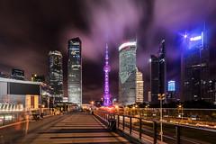Shanghai Business District (Loki7777) Tags: orientalpearltower skycraper gratteciel night shanghai china chine