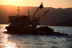 Katun_pod_suncem (Rijeka u slikama) Tags: rijeka croatia hrvatska katun fishing boat ribarski brod pentaxk7