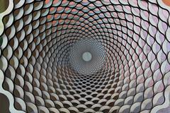 Bowl (skipmoore) Tags: glass bowl radial pattern