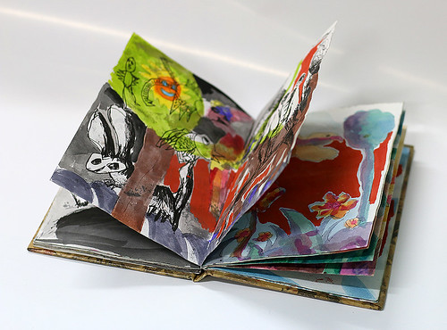 artist book Notepads notebook A diary Scribbles line draw Scribble inks Scribbling painting zentangel pattern