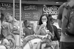 Jaxson's Ice Cream On A Summer Night (erluko) Tags: daniabeach smcpentaxda50135mmf28edifsdm candid carousel jaxsonsicecream streetphotography weeklythemechallenge onlycontest