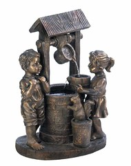 Amazing Wishing Well Fountain (mywowstuff) Tags: gifts gadgets cool family friends funny shopping men women kids home
