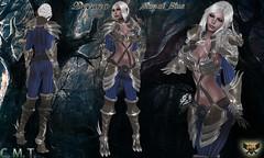 EC-Devana Royal Blue (EC-Eleran's Craft) Tags: ec crafts armor outfit fantasy magic warrior knight wizard mage mesh 3d zbrush substance painter sl secondlife armory devana people huntress forest dragon draconic drake
