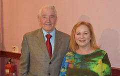 Judith welcomes Labour legend Dennis Skinner to the annual Bradford South dinner