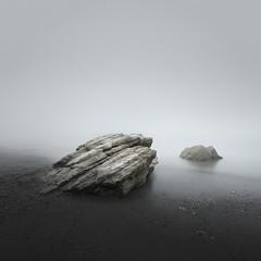 Rock Study 2 (www.neilburnell.com) Tags: longexposure minimal minimalism minimalist rocks sea seascape sand mist ocean landscape