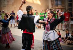 The dance with castanets. (GlebLv) Tags: a6000 sony sel50f18 spain espana vinaroz vinaros castellón dance fiesta santjoanisantpere