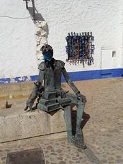 Escultura Don Quijote de la Mancha Alcazar de San Juan Ciudad Real (Rafael Gomez - http://micamara.es) Tags: escultura don quijote de la mancha alcazar san juan ciudad real