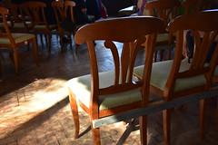 Südbahnhotel (anuwintschalek) Tags: nikond7200 18140vr suvi sommer summer august 2018 austria niederösterreich semmering südbahnhotel kultursommersemmering waldhofsaal interiour stühle toolid sessel chairs
