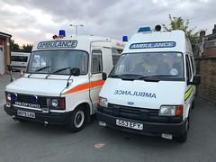 80's and 90's (Flikrman Gaz) Tags: bedford transit ambulance