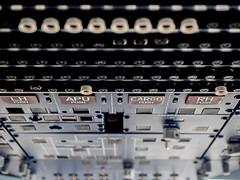 Cockpit inside (spline_splinson) Tags: dornier aircraft airplane buttons closeup cockpit deutschland flugzeug friedrichshafen germany helicopter hubschrauber instrumente instruments kanzel knöpfe measuringinstruments pilot schalter switches badenwürttemberg de