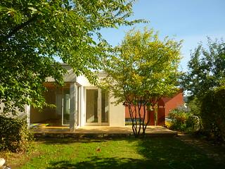 Tiny House mit Holzterrasse