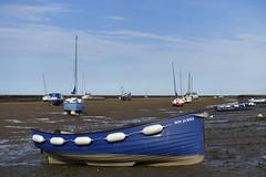 Wells Harbour (_ _steven.kemp_ _) Tags: wells wellsnextsea norfolk beach harbour coast sea sand sky ocean boat hut