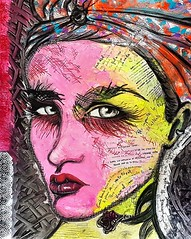 Cassano (franck.sastre) Tags: art words colors painting streetart eyes lips