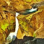 Iceland ~ Landmannalaugar Route ~  Ultramarathon is held on the route each July ~ Waterfalls thumbnail
