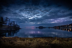 Blue hour at Neck Point (kellypettit) Tags: neckpoint nanaimo bc westcoast vancouverisland bluehour bay ocean sea night