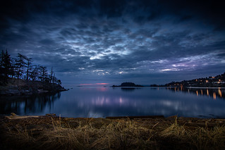 Blue hour at Neck Point