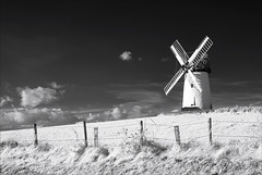 """I hope someone has braked the top this week! (Vab2009) Tags: windmill """"ballycopelandwindmill"""" sails mill ir infrared"""