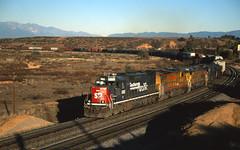 Yuma Sub SP 8361 MWCHN 18 NOV 00 (Ray C. Lewis) Tags: slides fuji railroad trains railways yuma subdivision railfanning scans california union pacific