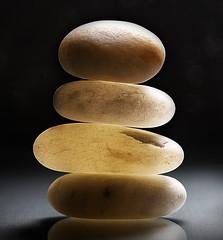 Stacked (johnsinclair8888) Tags: rock rocks stones beachrock nikon d750 johndavis bokeh art macromondays