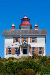 Yaquina Bay Lighthouse, Newport Oregon (fandarwin) Tags: yaquina bay lighthouse newport oregon darwin fan fandarwin olympus omd em10