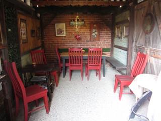 Inside the Austrian Coffee Shop, Das Kaffeehaus, The Mill, Castlemaine.