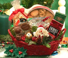 Basket Gifts : Holiday Cheer Gift Basket (giftsmaps.com) Tags: gifts