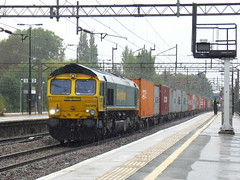 66569 at northampton (47604) Tags: class66 66569 northampton freight container