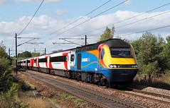 EMT Power At Wintersett. (Neil Harvey 156) Tags: railway 43061 43075 newcrofton wintersett wakefield class43 hst intercity125 eastmidlandstrains lner