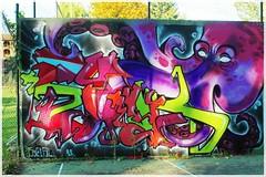 StreetArt ([JBR]) Tags: streetart artderue couleurs colores colours pieuvre poulpe lasalle gard cevennes france 30 30460