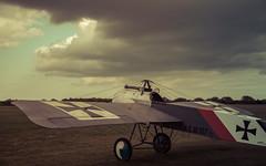 StowMaries-22ndApr17-5d-208 (Dan Elms Photography) Tags: fokker ww1 monoplane hun german germany eindekker stowmaries replica canon canon5dmkiii 5dmkiii airfield greatwar danelms danelmsphotography wwwdanelmsphotouk