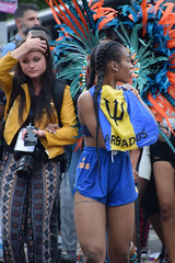 DSC_8140 Notting Hill Caribbean Carnival London Exotic Colourful Costume Girls Aug 27 2018 Stunning Barbados Lady (photographer695) Tags: notting hill caribbean carnival london exotic colourful costume girls aug 27 2018 stunning ladies barbados lady