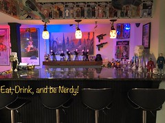Star Bar '77 (skott00) Tags: star wars bar vintage toys movie prop man cave lightsaber nerd geek