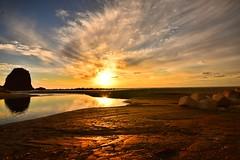 Sunset sea (Takeuchi@photo) Tags: nature landscape sunset sea coastland nigata japan 笹川流れ nikond750 sigma1224mm sky cloud