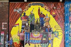 Kunst am Bahnhof Köln - Ehrenfeld (guentersimages) Tags: köln kölner kunst graffitikunst graffiti wandmalerei ehrenfeld stadt stadtteil streetart