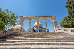 The Dome of the Rock, Jerusalem, Israel (Nick Brundle - Photography) Tags: jerusalem israel gettyimages nikon1424mmf28 nikond750 domeoftherock templemount unesco muslim praying holy religion