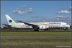 XA-ADL / AMS 17.08.2018 (propfreak) Tags: propfreak eham ams amsterdam schiphol xaadl boeing b7879 aeromexico quetzalcoatl