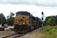 IMG_6763 (TolgaEastCoast) Tags: csx train diamond doswell virginia buckingham branch railroad coal empty newport news co ac44cw