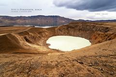 Viti e Öskjuvatn, Askja (Obliot) Tags: a7r3 cratere caldera paesaggi minerale lago vulcano sony lava a7riii zolfo luoghigeografici iceland cielo roccia 2018 acqua ale nuvole obliot buco
