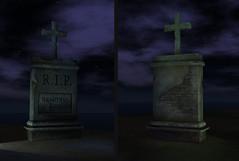 Tombstone - Second Life (Aloe [Alli Keys]) Tags: