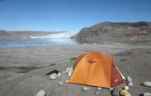Camp in Greenland