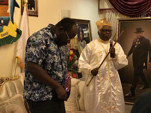 HSDickson- Condolence by Baba Aladura of ESOCS. 21st August 2018