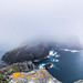 Isle of Dun in the mist