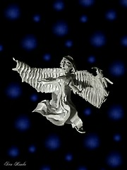 A N G E L 4.0 (sawwak444) Tags: origami art artist paper love sculpture beauty angel angels girl wings