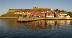 Whitby (amhjp) Tags: whitby seaside seascape seafront yorkshire landscape landmark church sea sky historical historic heritage history harbour england english europe europeonflickr british britain travel holiday vacation