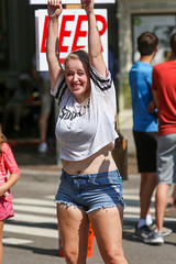 2018_AF_3242 (Knox Triathlon Dude) Tags: 2018 dance korean croptop croppedtop belly abs festival usa bellybutton shorts denim bellyshirt daisydukes shortshorts lady dancer knoxville tn female kpop midriff beautiful pretty cutoffshorts short leg legs thighs blond blonde woman cute