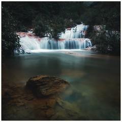 Suối nhỏ (=Heo Ngốc=) Tags: waterfall river longexposure landscape vietnam thanhhoas d700 nikon mood dark
