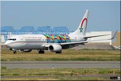 Boeing 737-86N, Royal Air Maroc, CN-RGH (OlivierBo35) Tags: toulouse tls spotting spotter blagnac lfbo boeing ram maroc b737