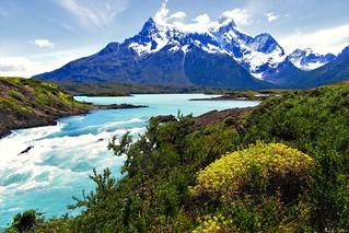 Patagonia,salto paine,parque nacional Torres Paine !!