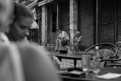 Overthinking (ivanpilipovic) Tags: canon eos 1100d street people thinking mostar bosnia herzegovina bw 50mm
