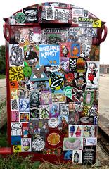 stickercombo (wojofoto) Tags: amsterdam nederland netherland holland streetart wojofoto wolfgangjosten stickers stickerart sticker wojo stickercombo combo